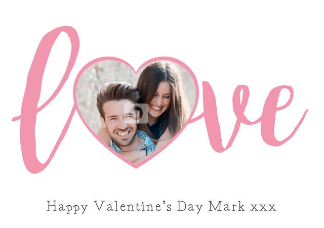Create a Love Heart Greeting Card