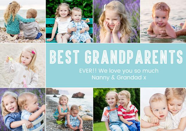 Create a Best Grandparents Greeting Card