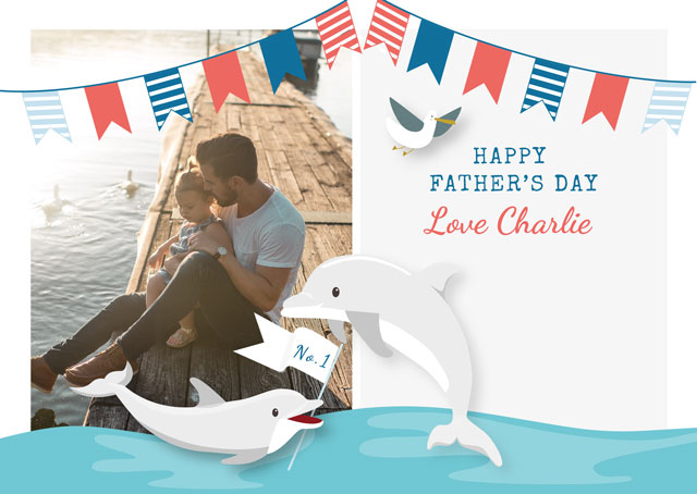 Create a Seaside Photo Card