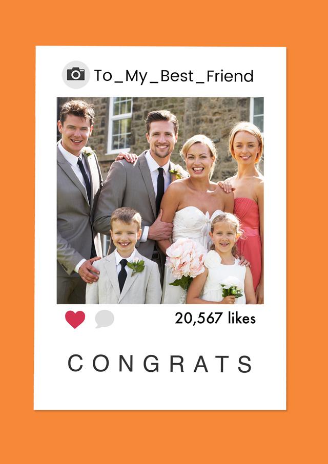 Create a Polaroid Congrats Photo Card