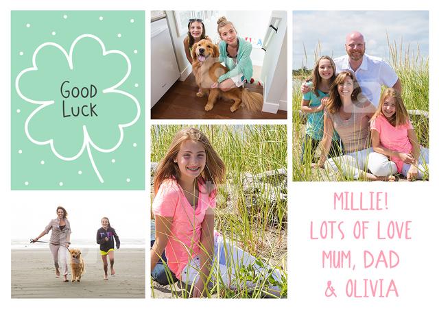 Create a Clover Photo Card