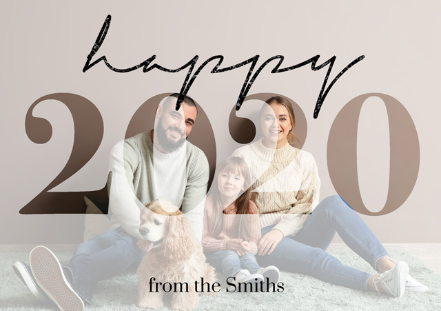Create a Photo Christmas Card Happy 2020 Photo Card