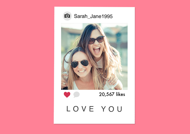 Create a Instagram  Photo Card