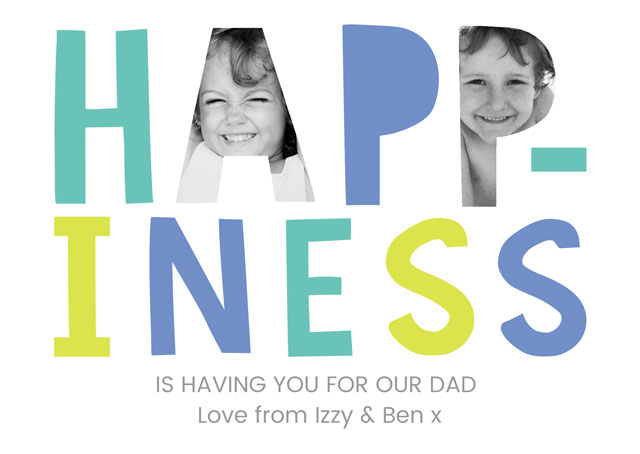 Create a Happiness X2 Fd Greeting Card