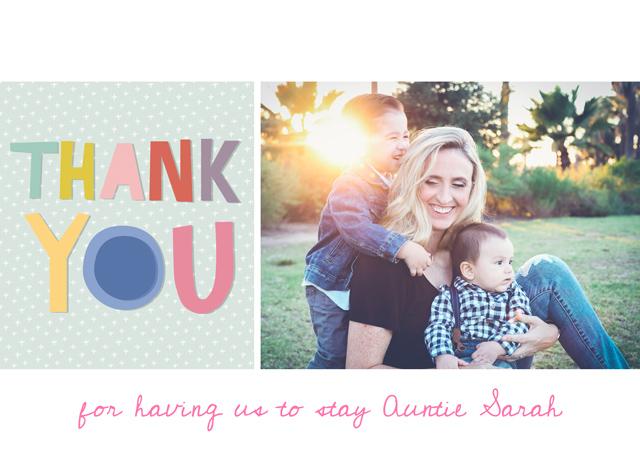 Create a Thank You Greeting Card