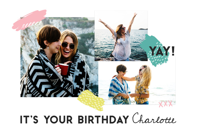 Create a Yay It's Your Birthday  Photo Card