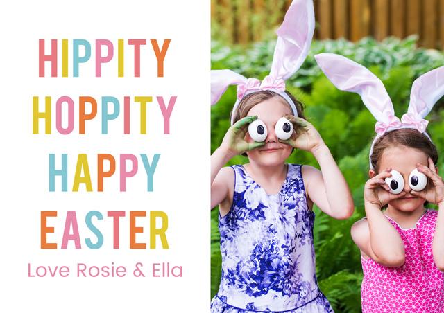 Create a Hippity Hoppity Greeting Card