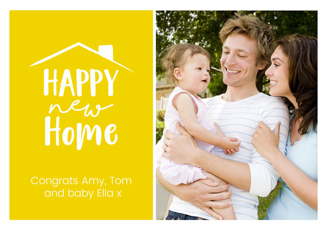 Create a New Home Windows Greeting Card