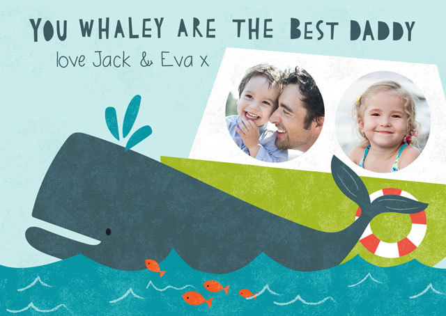 Create a Whaley Photo Card