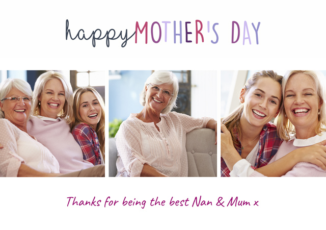Create a Happy Mother's Day  Photo Card
