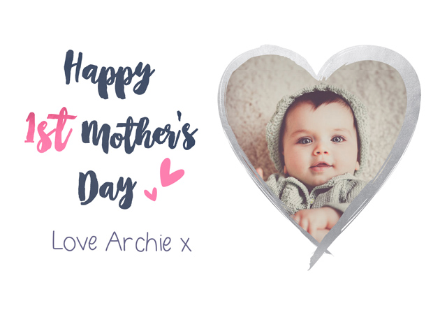 Create a 1st Mother's Day Greeting Card