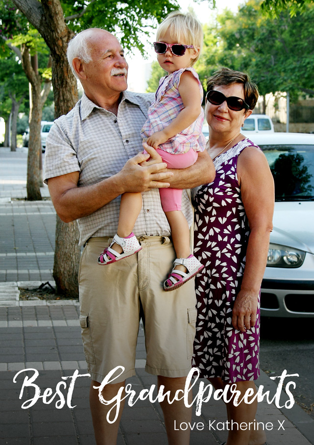 Create a Grandparents Day Script Greeting Card