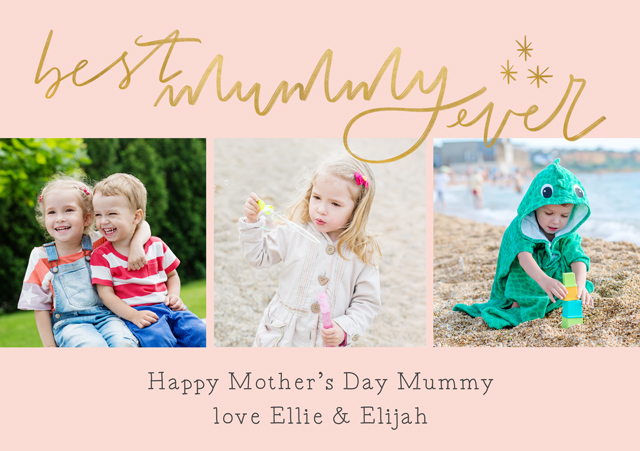 Create a Best Mummy Ever Greeting Card