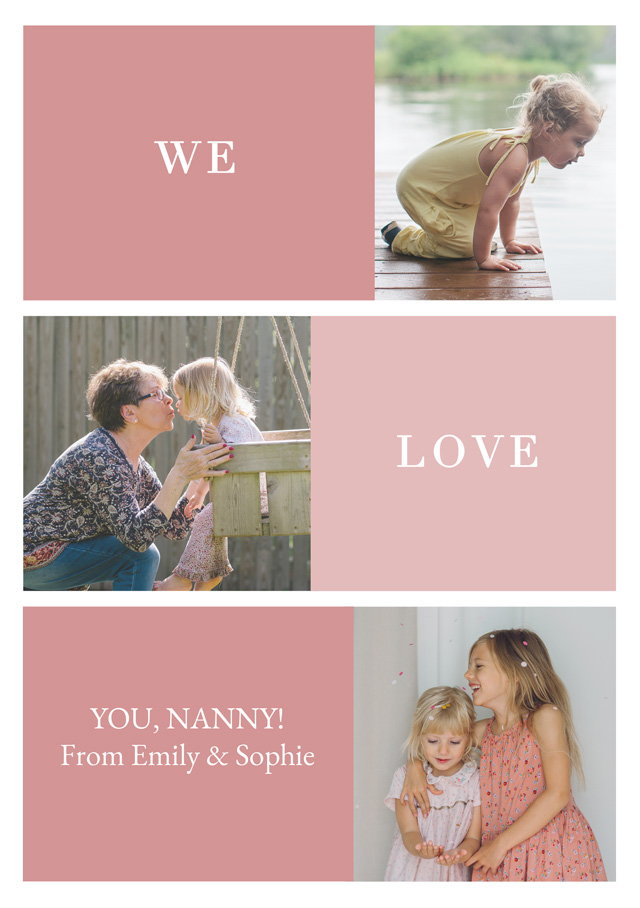 Create New Photo Card Grandparents Day   Design 7 Card
