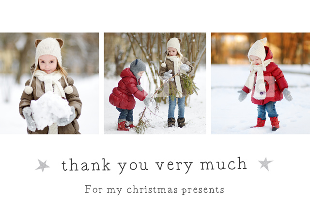 Create a Photo Thank You Card Collage Very Much Photo Card
