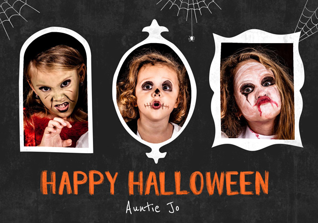 Create a Spooky Frames Greeting Card
