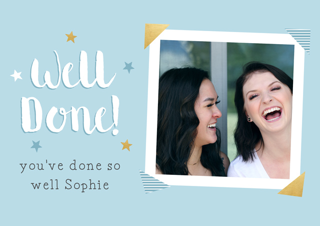 Create a Well Done Polaroid Greeting Card