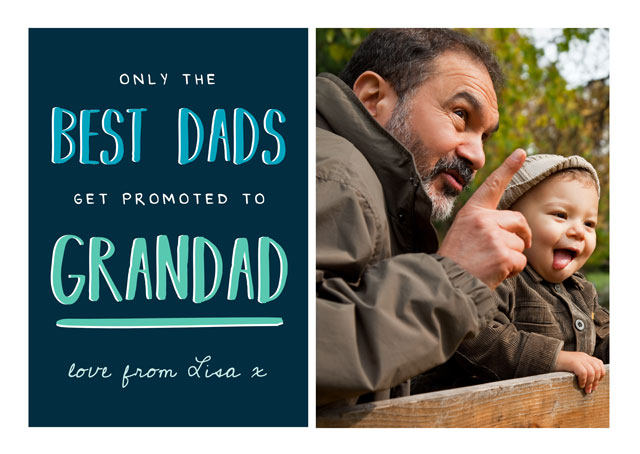 Create a Grandads Photo Card