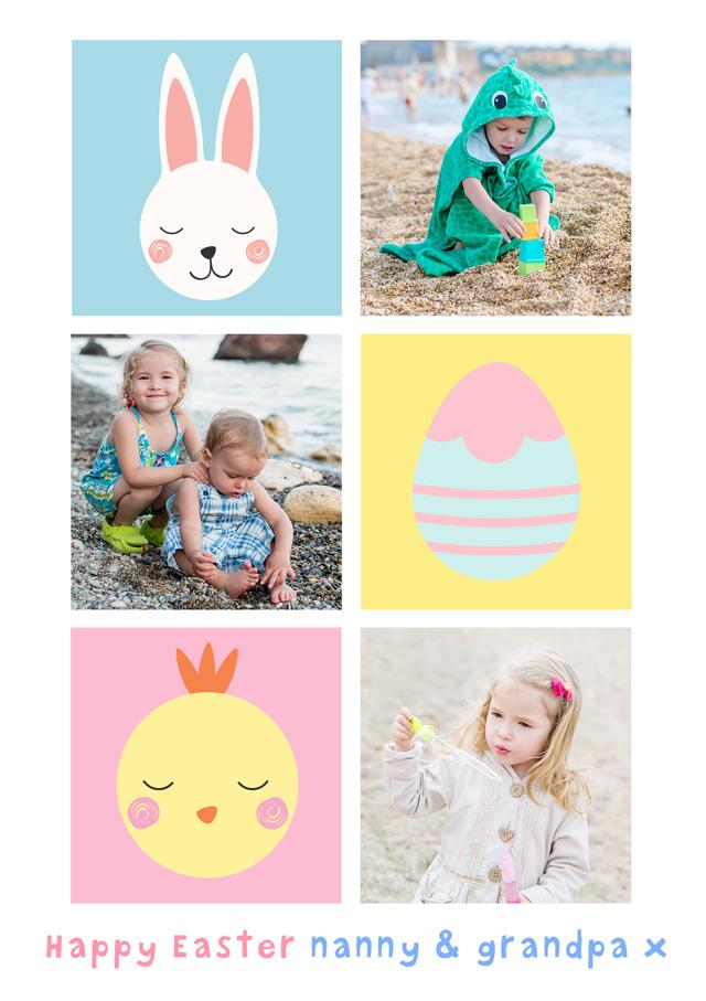 Create a 3x Collage Photo Card