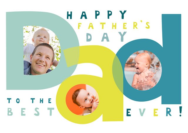 Create a Dad Bokka Photo Card
