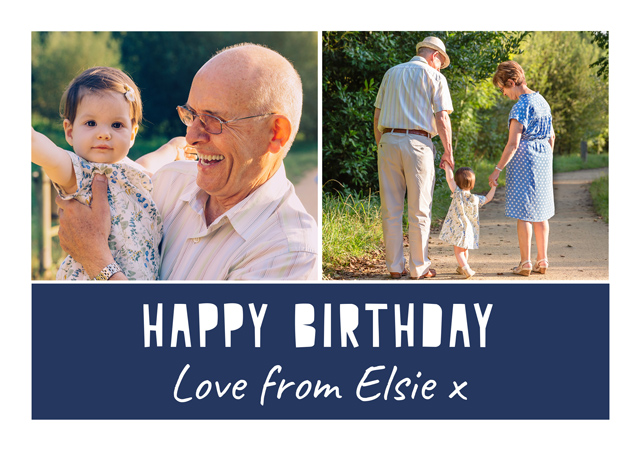 Create a Cut Out Birthday Text  Greeting Card