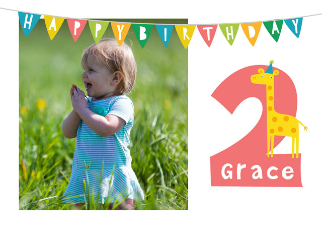 Create a Birthday 2 Greeting Card
