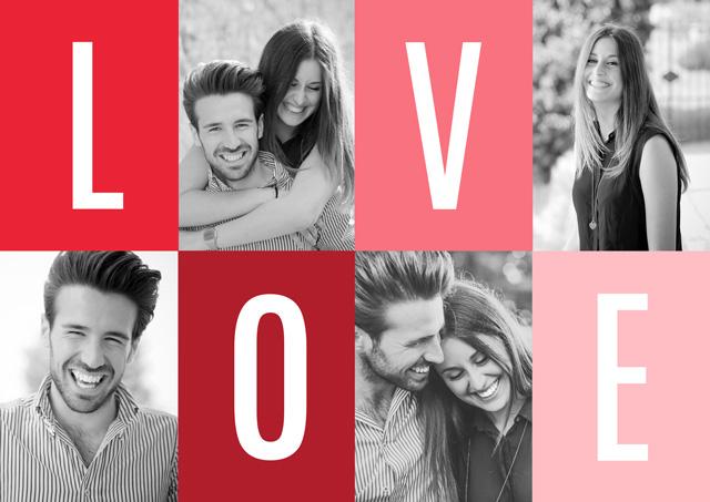Create a Photo Card Love Photo Card
