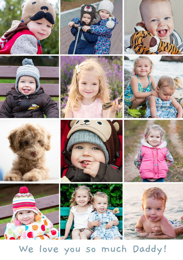 Create a Photo Card Any Occasion 12 Photos Photo Card
