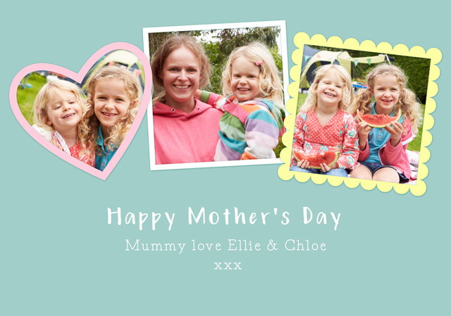 Create a Frames Mother's Day Greeting Card